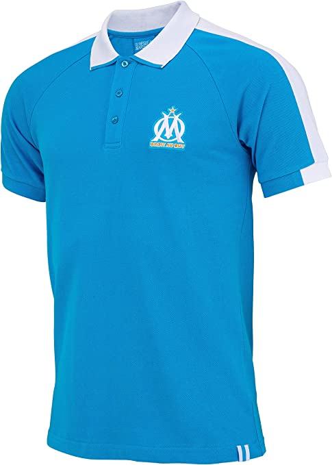 Collection Officielle Taille Homme OLYMPIQUE DE MARSEILLE Polo Om