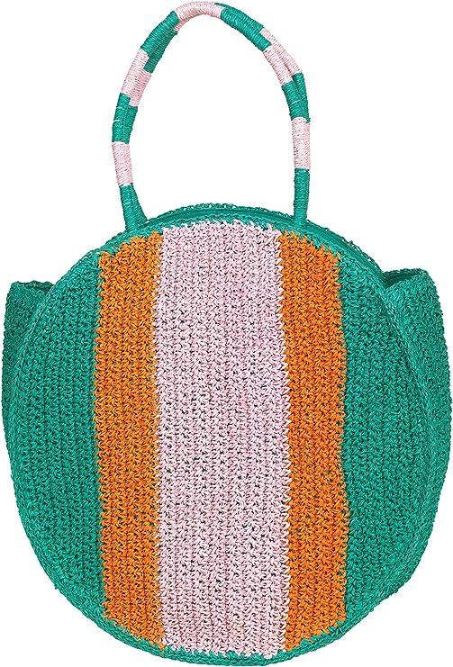 Becksöndergaard Damen Einkaufstasche Taya Bag Clear Green