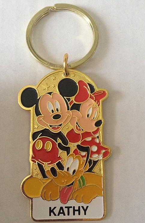 Amazon.com: Disneyland personalizado nombre clave Cadena ...