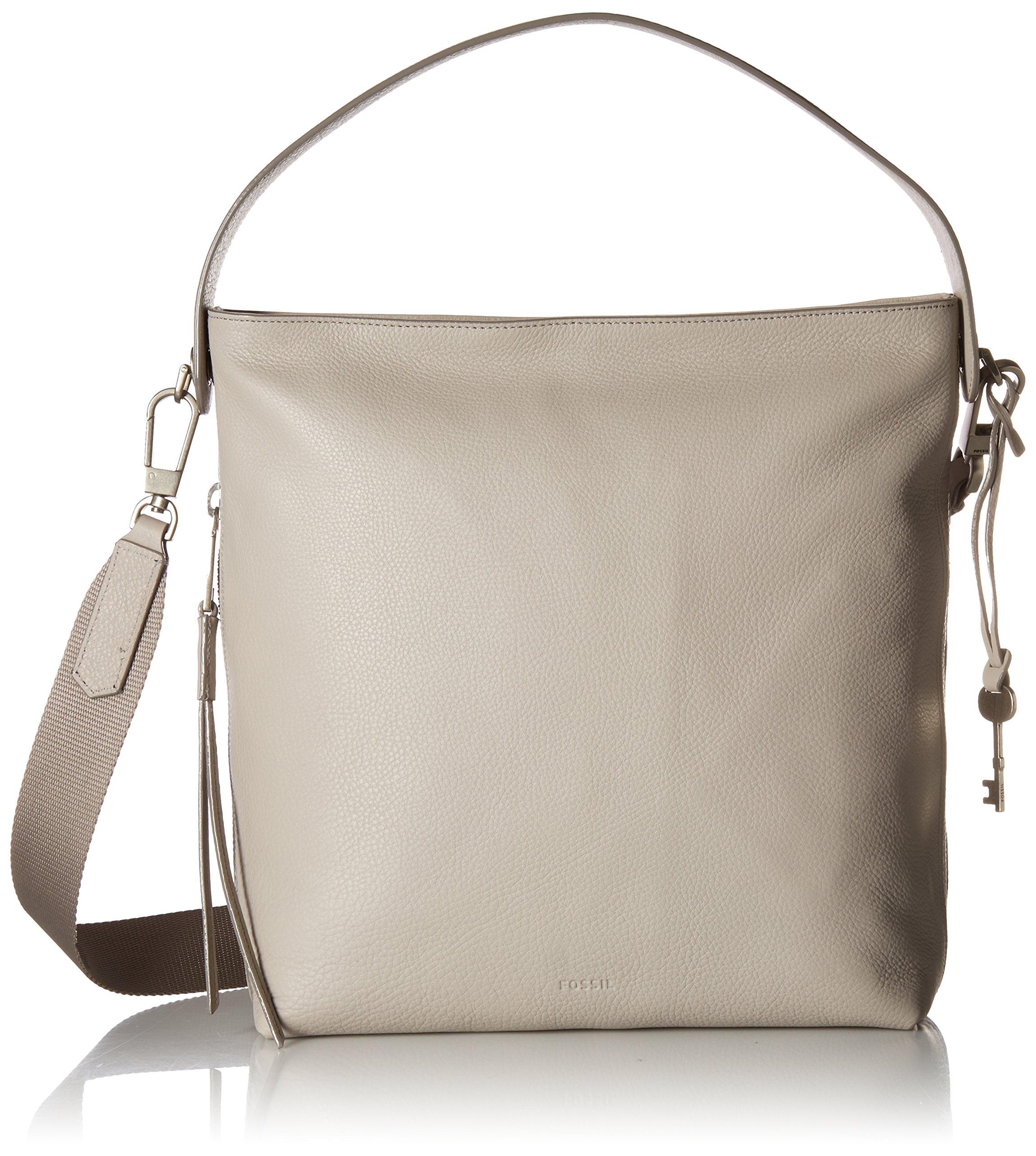 Fossil Maya Small HOBO Handbag, Mineral Gray