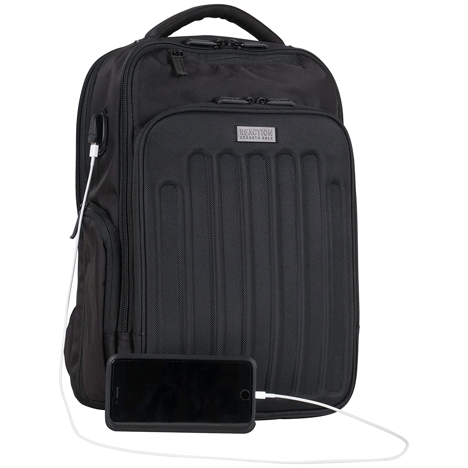 9824c126f054 Amazon.com  Kenneth Cole Reaction 1680d Polyester Dual Compartment 15.6