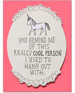 Amazon i miss you im a mess without you greeting card w american greetings unicorn miss you card with attachment 5856785 m4hsunfo