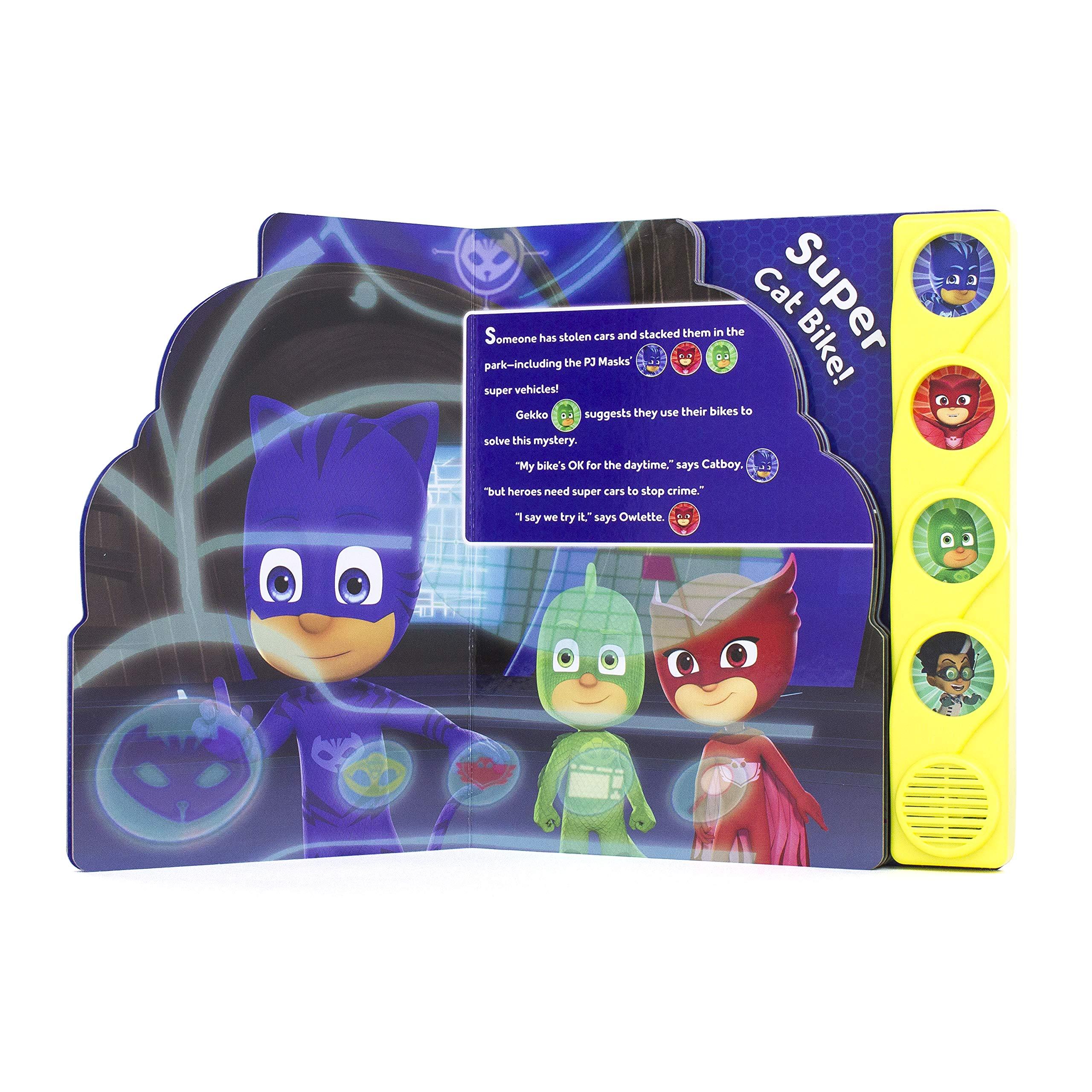Pj Masks: Super Cat Bike! (Play-A-Sound) : P. I. Kids: Amazon ...