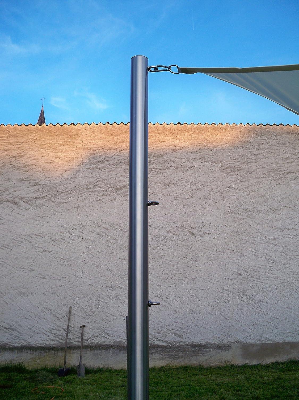 50 cm Rohr Aussen Ø 54 mm als passendes Edelstahl Stützrohr für 60,3 x 3 mm
