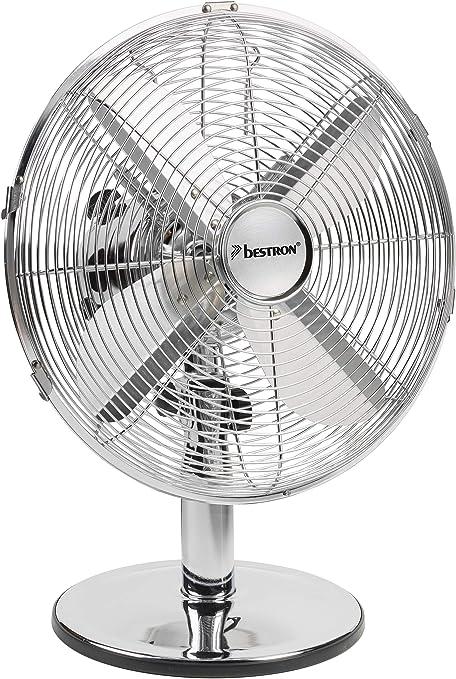 ventilateur sur pied 45cm 50w chromé bestron