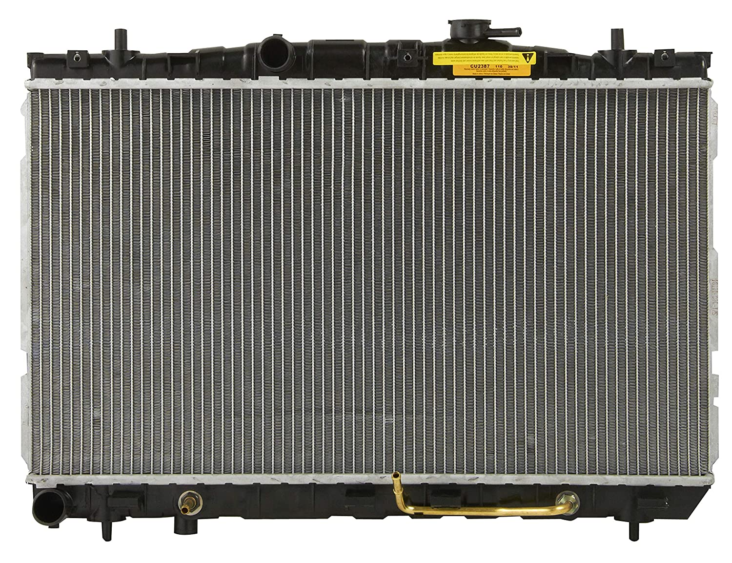 Spectra Premium Complete Radiator Cu2387 Automotive 2002 Hyundai Sonata 20 Fan Stopped Blowing