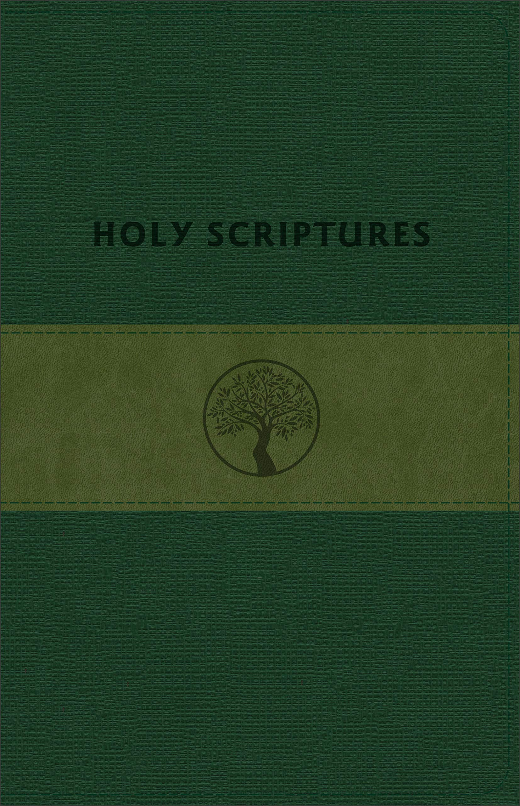 TLV Personal Size Giant Print Reference, Holy Scriptures, Grove/Olive LeatherTouch by Baker Pub Group/Baker Books
