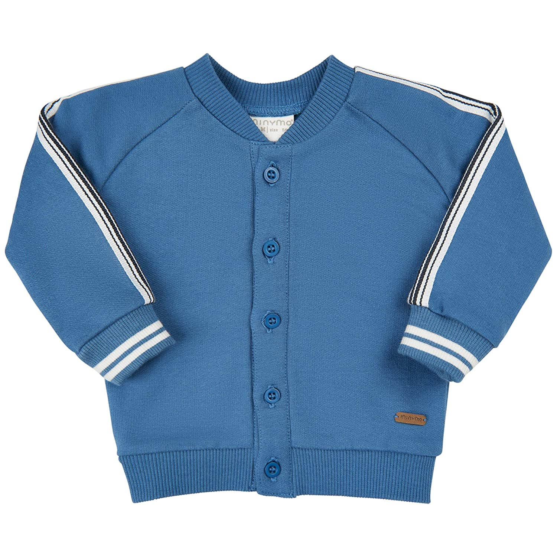 079733ff4f MINYMO Baby Boy Cardigan Sweat Blue: Amazon.de: Bekleidung