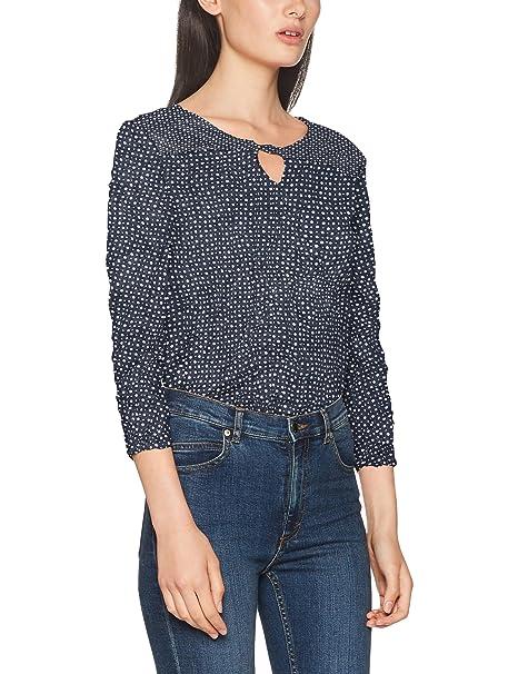 Tom Tailor Crincle Blouse Shirt, Blusa para Mujer: Amazon.es: Ropa y accesorios