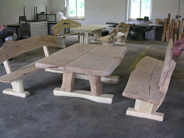 Rustikale Gartenmöbel Sitzgruppe Sitzgarnitur Eiche Online Bestellen