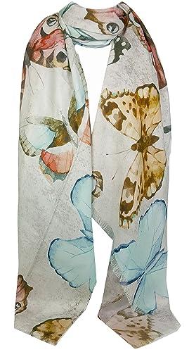 GFM Diseño de la pluma del pavo real Bufanda del estilo de Pashmina (PCKPASH)