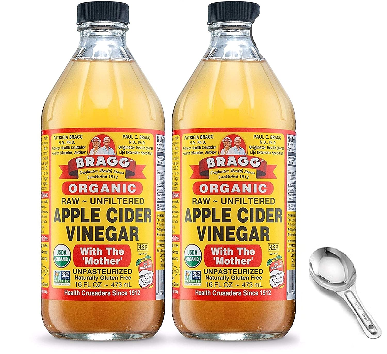 Amazon.com: Bragg USDA vinagre de sidra de manzana cruda ...