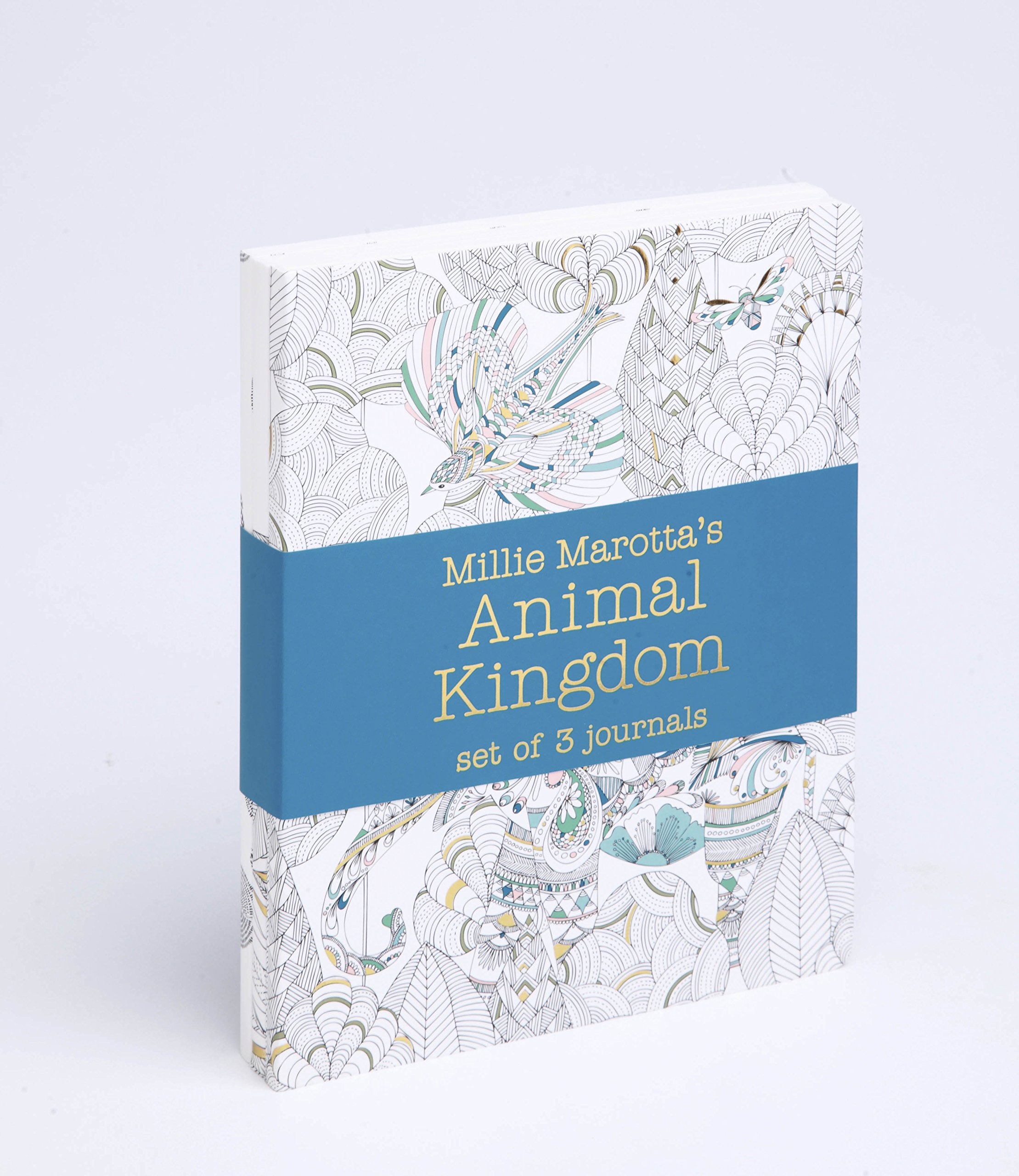 Millie Marottas Animal Kingdom Journal Set Amazoncouk Marotta 9781849942911 Books