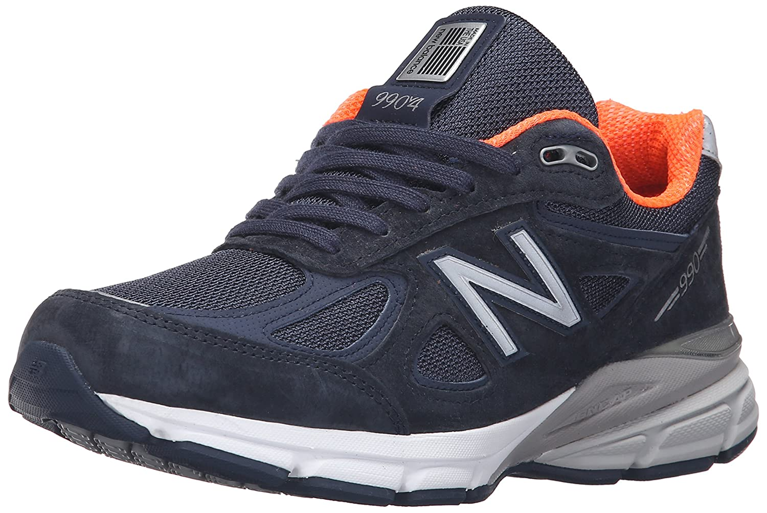 New Balance Women's w990v4 Running Shoe B0166G162C 6.5 2E US|Navy