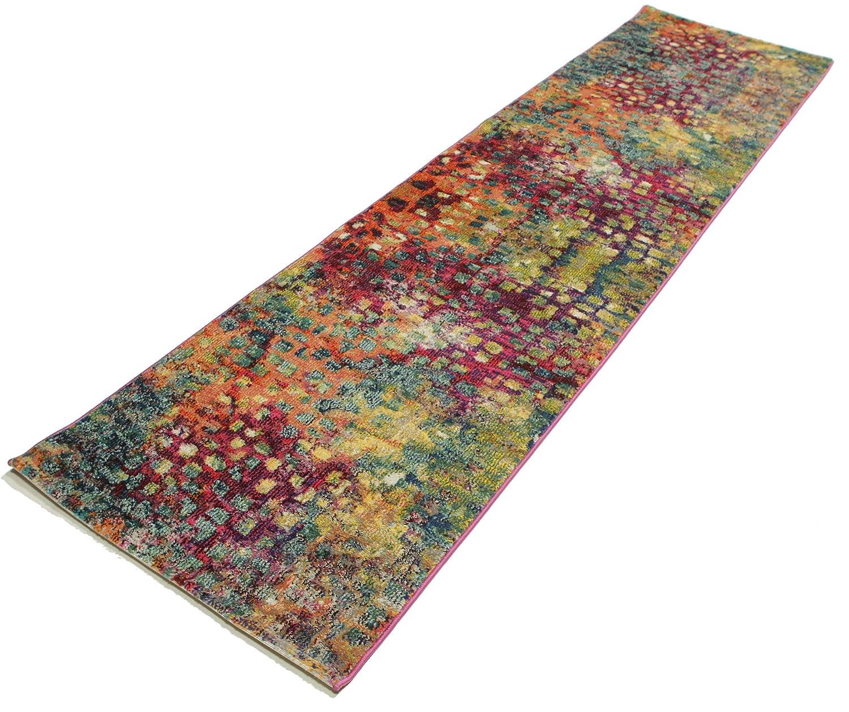 Tappeto davina 80x300 tappeto moderno, passatoia: amazon.it: casa ...