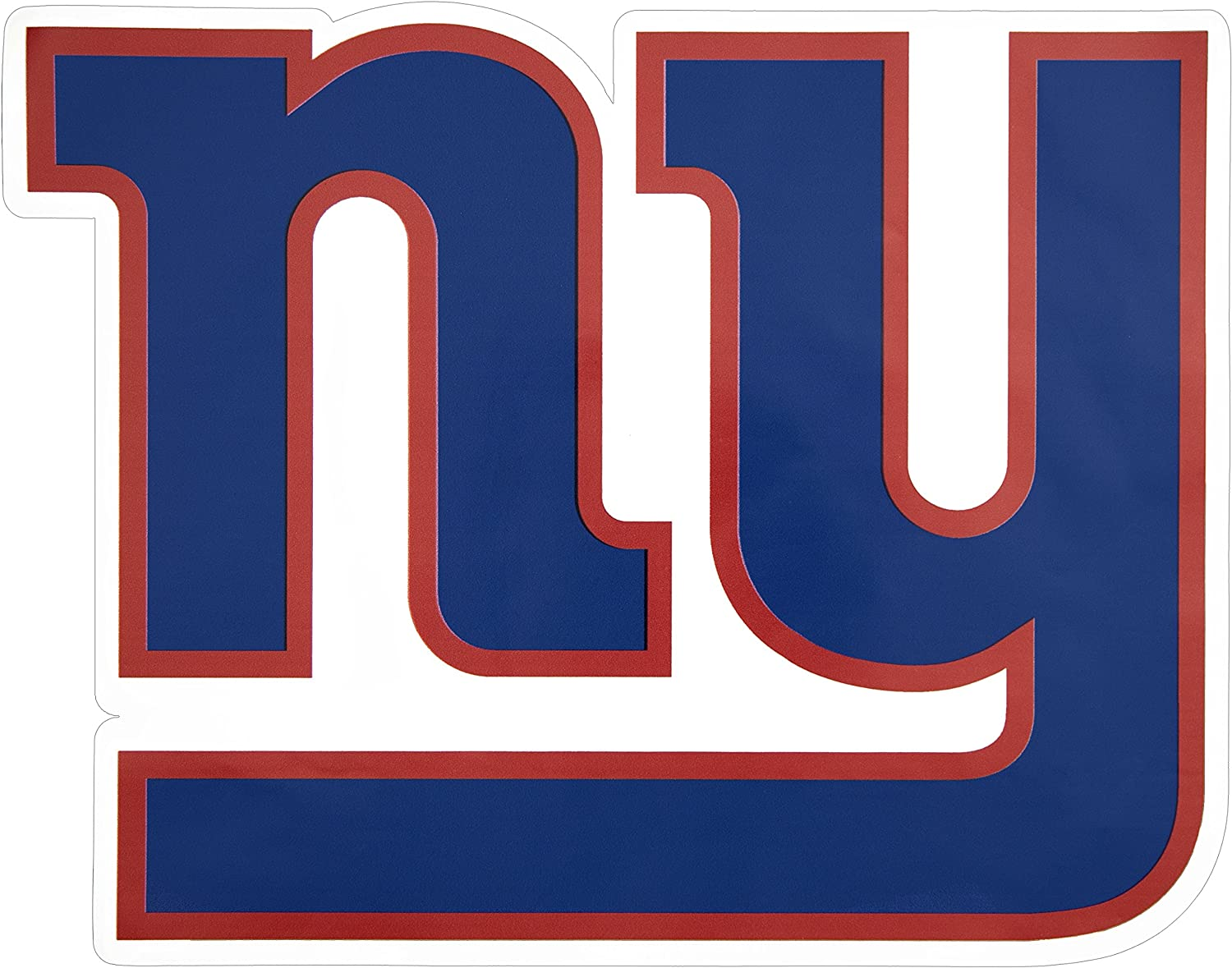 Applied Icon NFL New York Giants Outdoor Large Primary Logo Graphic Decal