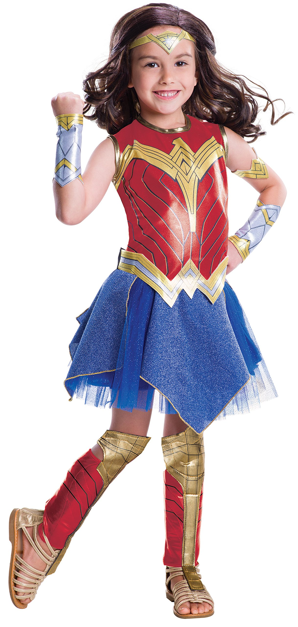 Wonder Woman Movie Child's Deluxe Costume, Large
