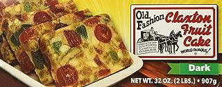 product image for FRUIT CAKE Boxed 2 lb Dark Recipe Claxton Fruitcake