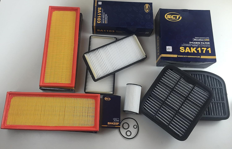 SCT Germany SB 2305 Luftfilter passt für MB C-Klasse W204 Geschenkt
