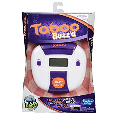 Taboo Buzzd Game: Toys & Games