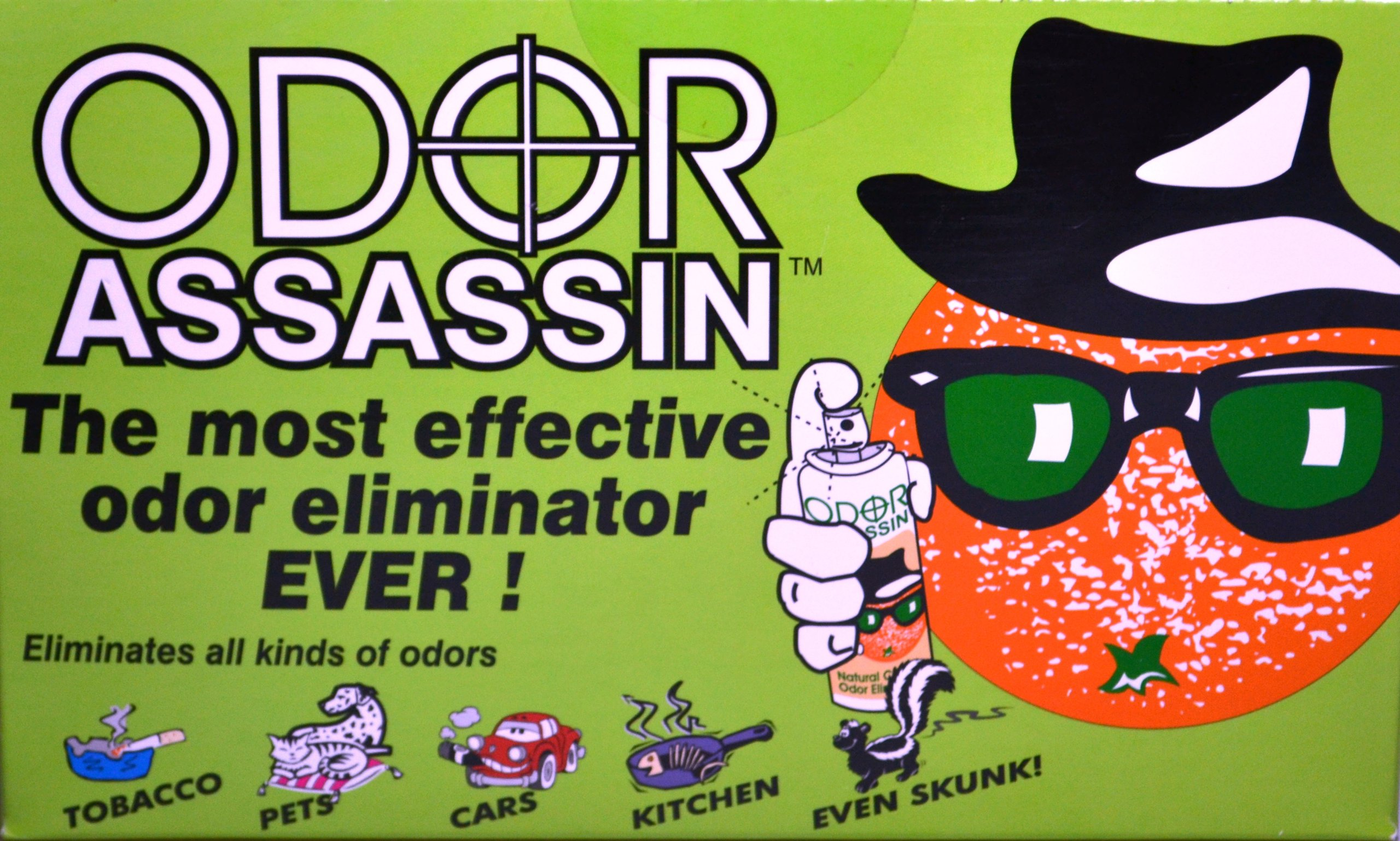 Odor Assassin Odor Control Spray, LEMON & LIME scent, Pack of 3 by JAY MFG (Image #2)