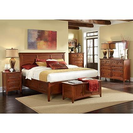 530 Solid Hardwood King Bedroom Set Best HD