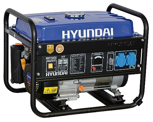6 opinioni per Generatore di Corrente Hyundai HY 3000- 3 kw