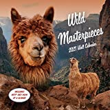 Wild Masterpieces 2021 Wall Calendar: (Animal Portraits Nature Monthly Calendar, 12-Month Calendar of Pets in Natural…