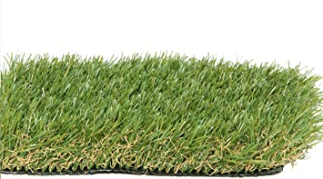 artificial turf. PZG Premium Artificial Grass Patch W/ Drainage Holes \u0026 Rubber Backing | 4-Tone Turf