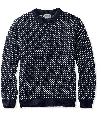 L.L.Bean Heritage Sweater, Norwegian Crewneck 259447