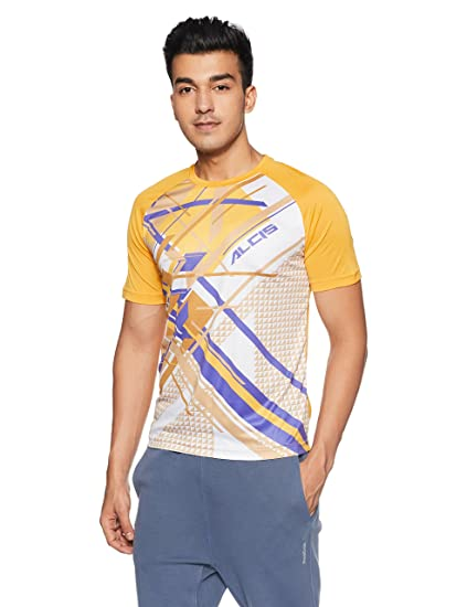 d6eabde8 ALCiS Men's Printed Regular Fit T-Shirt: Amazon.in: Clothing & Accessories