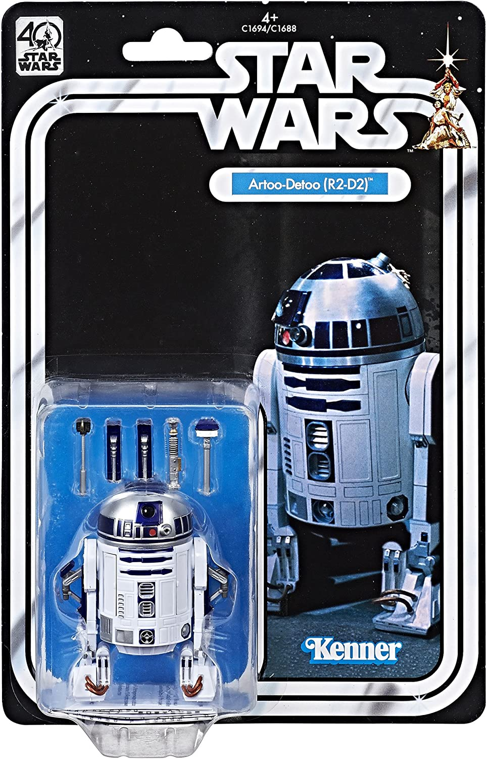 R2-D2 Kenner Star Wars 40th Anniversary Artoo-Detoo Figure