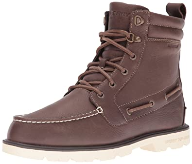 Sider Top Homme Ao Lug Neige Bottes New Sperry De Leather Boot RPfwR5q