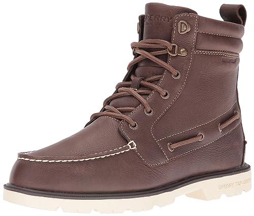 Sperry A/O Lug New Boot Leather, Botines para Hombre, marrón, 40.5 EU: Amazon.es: Zapatos y complementos