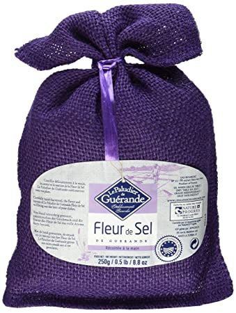 Amazon Com Fleur De Sel De Guerande Sea Salt 8 8 Oz Grocery