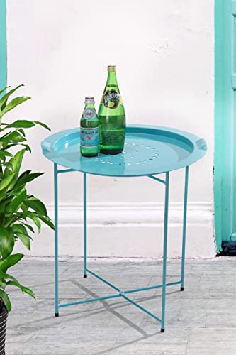 Sunjoy Steel Side Table