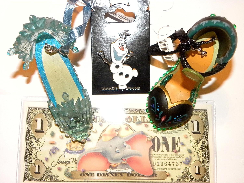 Disney Princess Slipper Christmas Ornaments Image 2