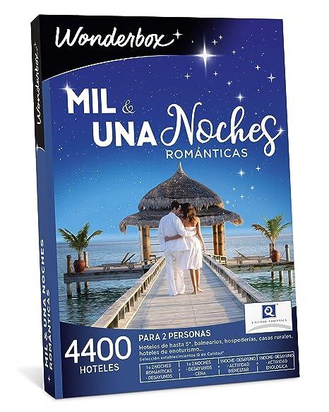 WONDERBOX Caja Regalo -MIL & UNA Noches ROMÁNTICAS- 4.400 hoteles románticos para Dos Personas