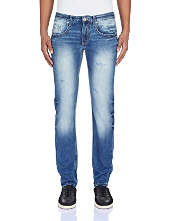 Pepe Jeans Men's Hatch Marcus Regular Fit Jeans: Amazon.in