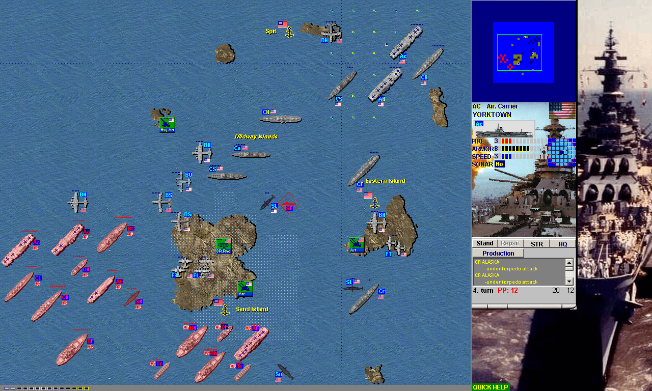 Battleship Game Pacific War Edition [Download]