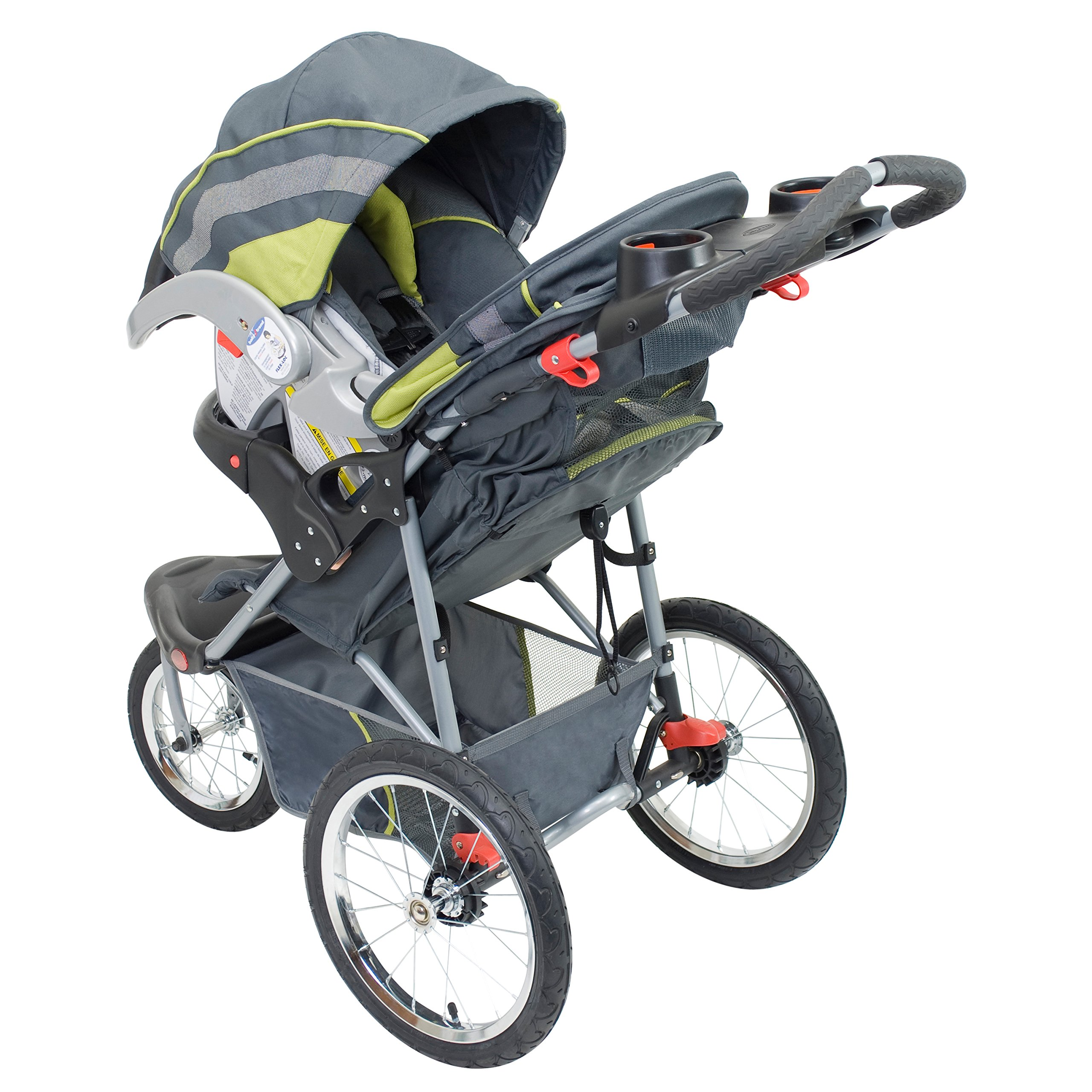 Baby Trend Expedition Jogger Stroller, Carbon by Baby Trend (Image #2)