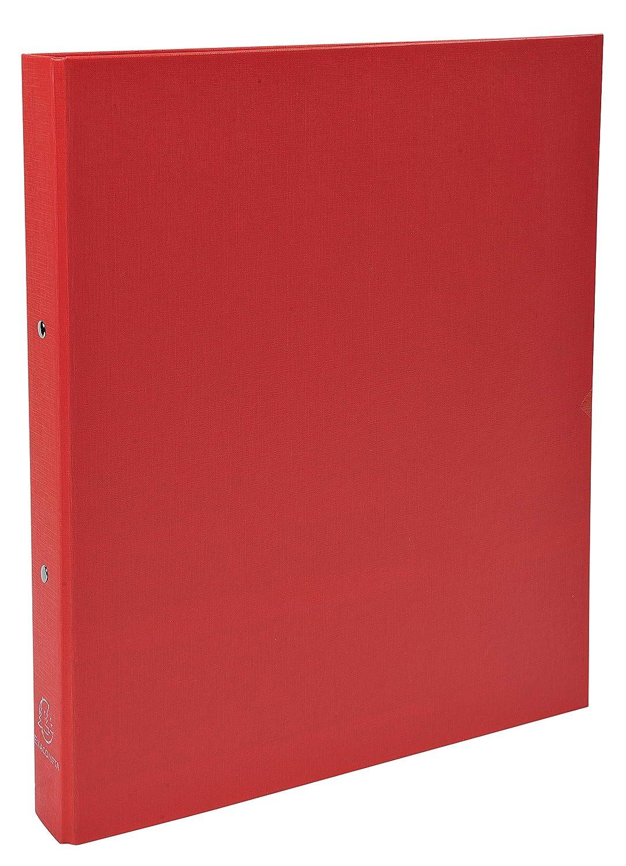 A4 1 pezzo Exacompta 54330E Raccoglitore foderato polipropilene 30 mm 2 anelli 32 x 26 cm Colori assortiti