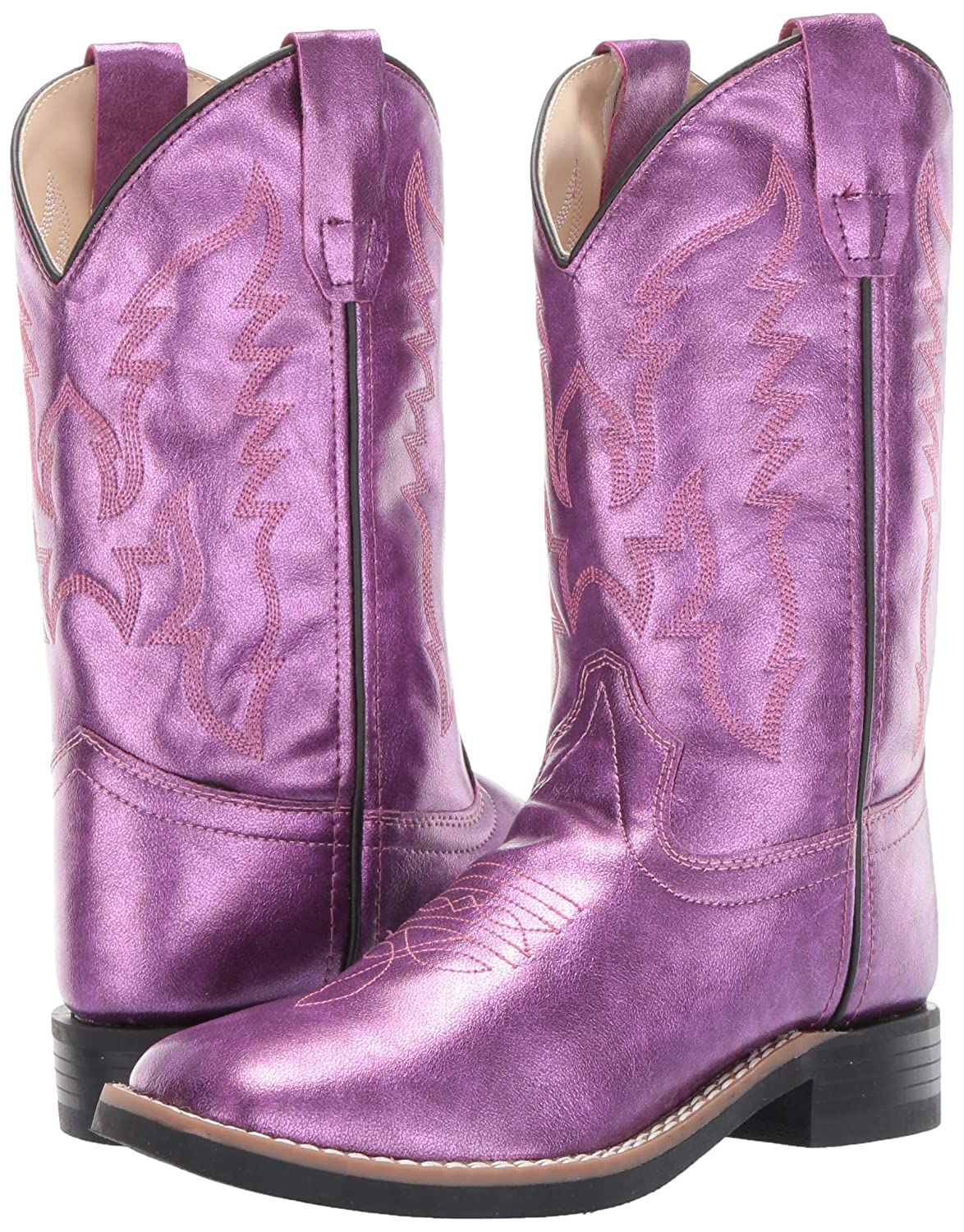 Toddler//Little Kid Old West Kids Boots Baby Girls Gina