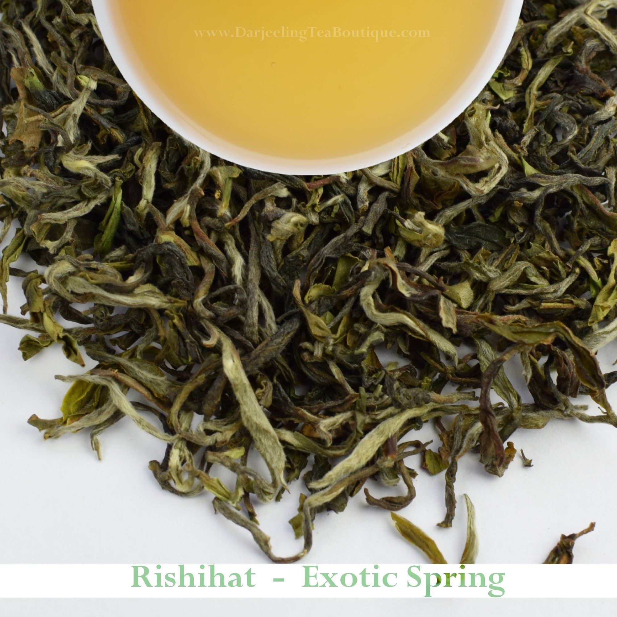 2017 - Rishihat Spring Exotica - Darjeeling First Flush Tea | 500gm (17.63oz) | Organic Indian Black Tea | China Cultivar | Darjeeling