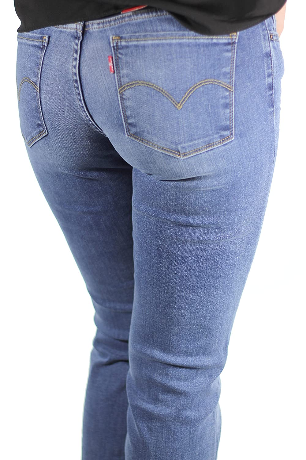 Levis Jeans Women 714 STRAIGHT 21834-0025 Blue Vista (30/32): Amazon.de:  Bekleidung