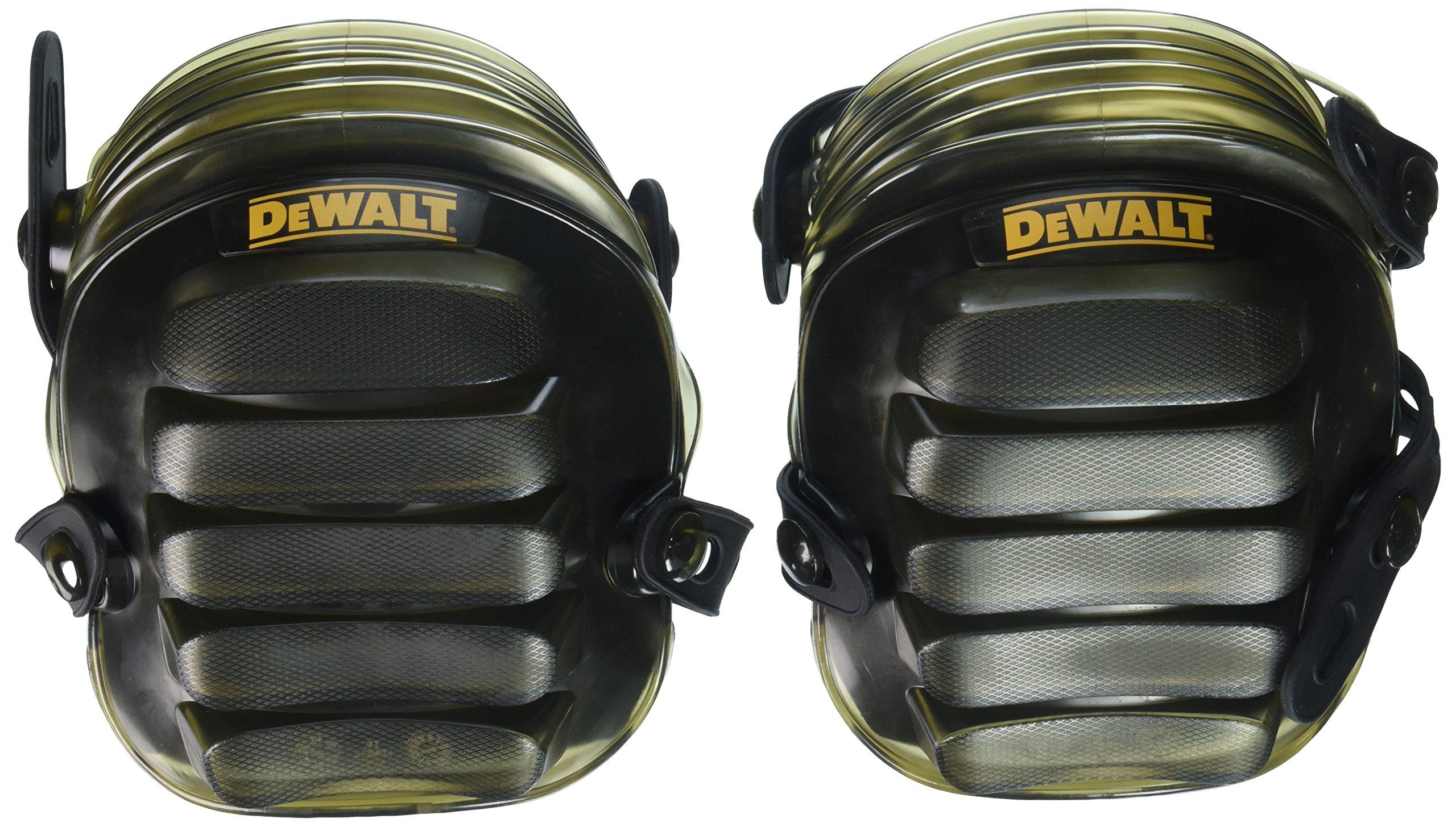 DEWALT DG5217 All-Terrain Kneepads with Layered Gel Padding with Full Size, All Terrain Cap by DEWALT