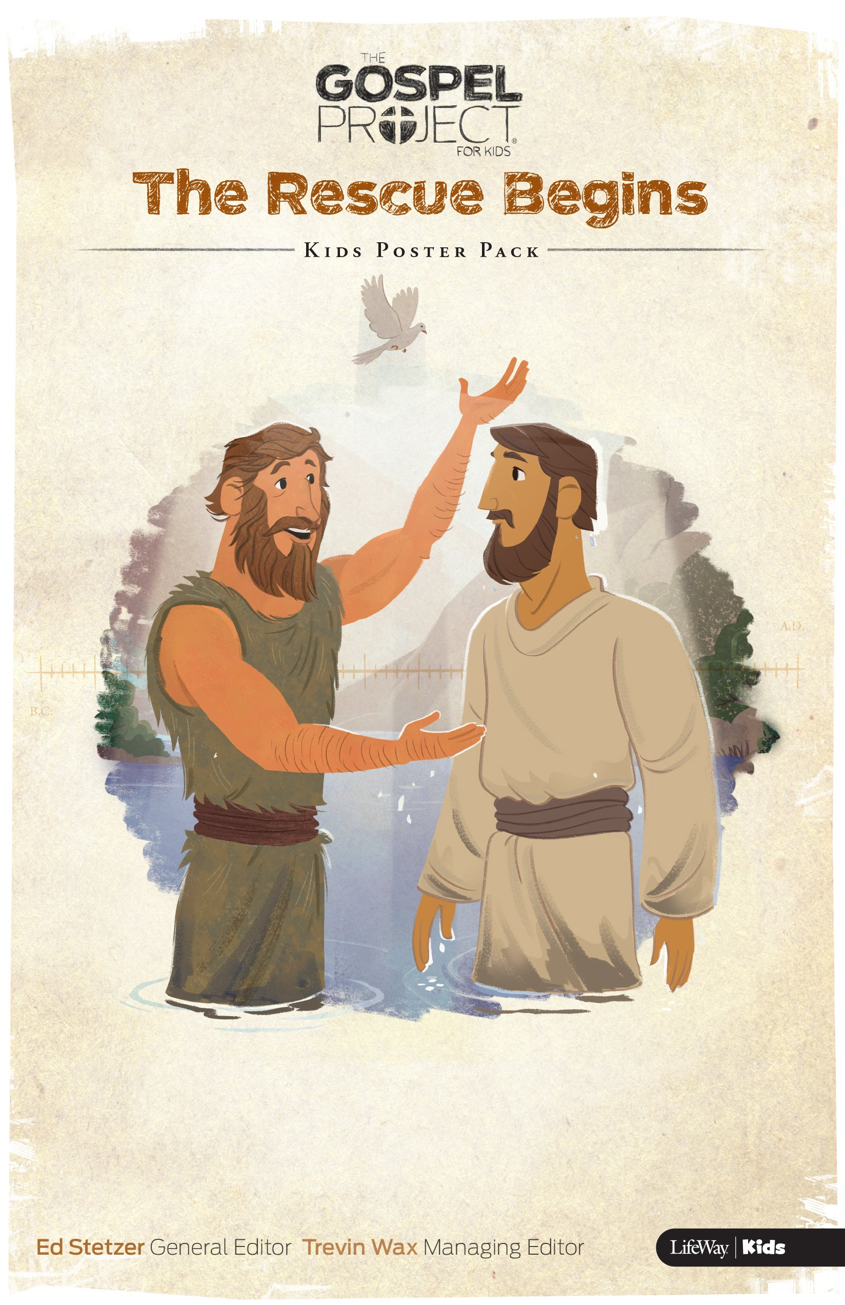 Read Online The Gospel Project for Kids: Kids Poster Pack - Volume 7: The Rescue Begins ebook