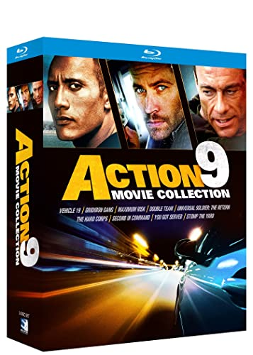 Fast Action 9 Movie Pack Bundle - BD [Blu-ray]