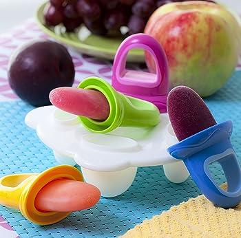 Nuby's Garden Fresh Plastic Popsicle Mold