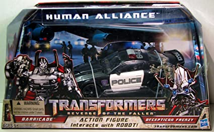 "Revenge of the Fallen Human Alliance Barricade 7/"" Action Figure Figurine"